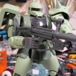 Grip Hands on Zaku rifle